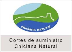 Cortes de suministro de Chiclana Natural