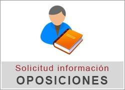 Solicitud información sobre oposiciones