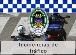 Incidencias de tráfico Policía Local