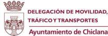 Logo Delegación Movilidad, Tráfico y Transportes