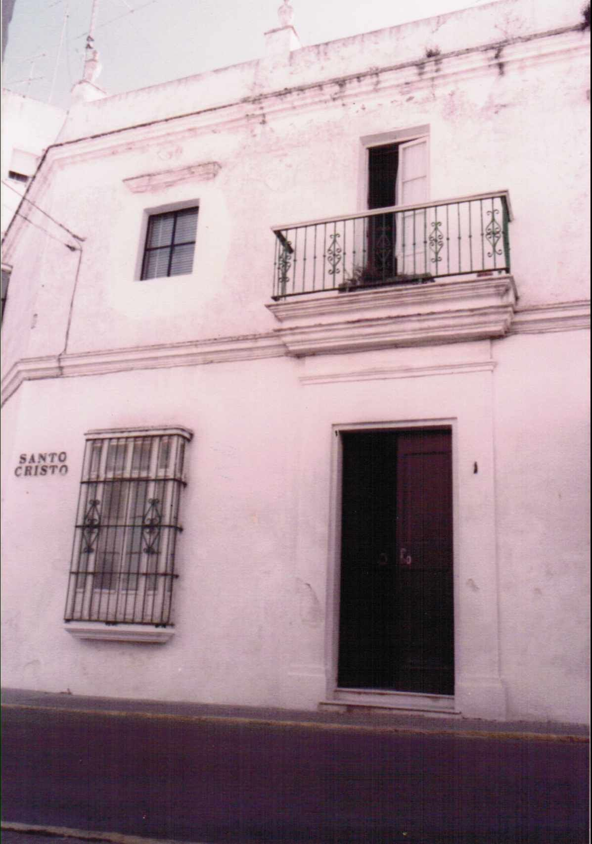 Casa de Paquiro. Calle Santo Cristo