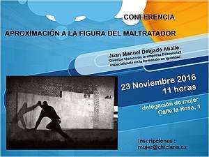 Conferencia aproximación a la figura del maltratador