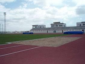 Imagen del estadio de atletismo