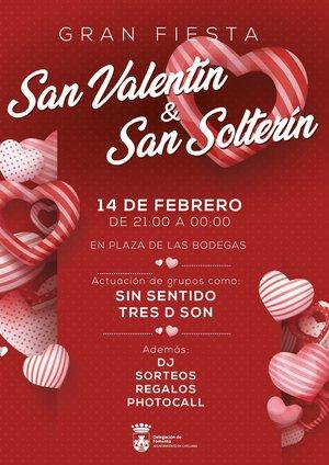 Cartel San Valentín