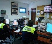 Sala de comunicaciones de la Policía Local