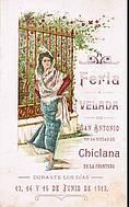 Programa de feria año 1912