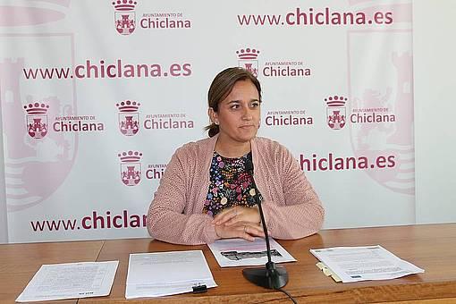 ANA GONZALEZ BUENO EN SALA DE PRENSA