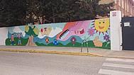 Mural CEIP Federico Garcia Lorca