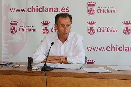 El alcalde en rueda de prensa