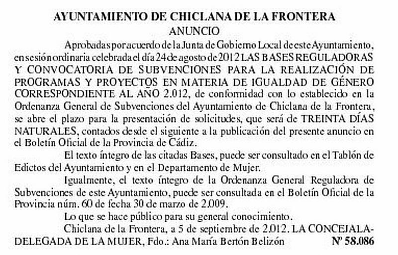 Portal oficial Ayuntamiento de Chiclana de la Frontera
