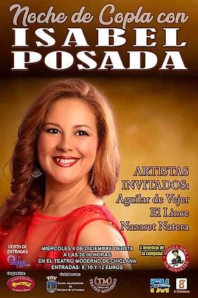 espectáculo de Isabel Posada