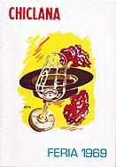 Programa de feria año 1969