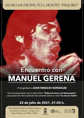 cartel Manuel Gerena