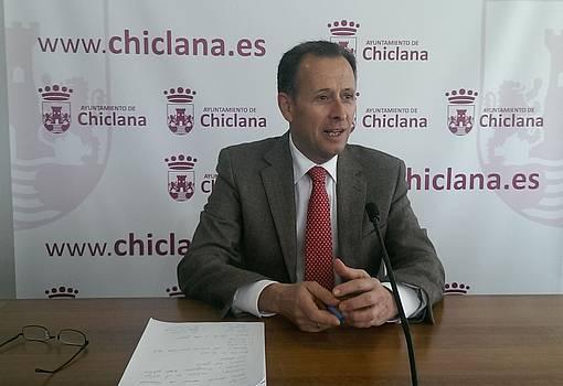 José María Román, durante la rueda de prensa.