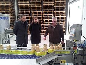 Visita del alcalde y la delegada de Turismo a La Pedriza.