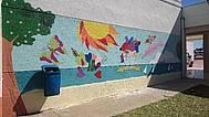 Mural IES Huerta del Rosario