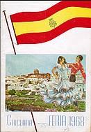Programa de feria año 1968