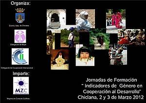 """I Jornada de formación """"Indicadores de Género en Cooperación al Desarrollo""""."""