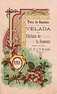 Programa de feria año 1916