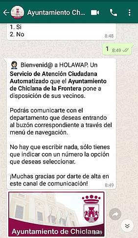 Whatsapp Ayuntamiento