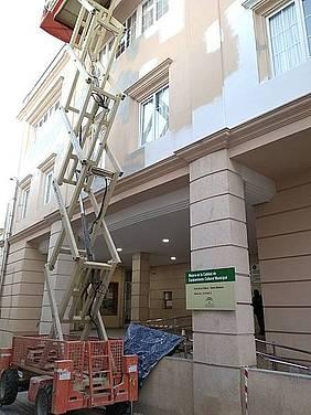 Mejoras en la fachada