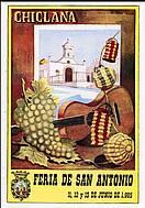 Programa de feria año 1965