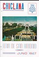Programa de feria año 1967