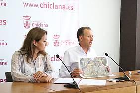 Rueda de prensa del alcalde y la delegada de Urbanismo