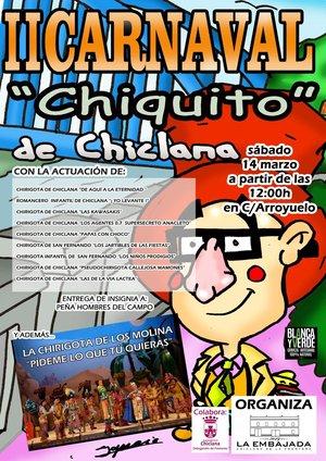Cartel Carnaval Chiquito