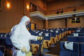 desinfección Teatro Moderno
