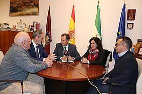 recepción nuevo director de Cáritas Diocesana de Cádiz