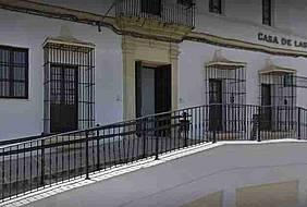 Fachada de la Casa de las Artes-Edificio Brake