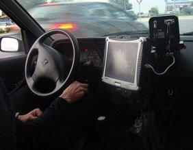 Cinemómetro de la Policía Local de Chiclana