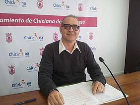 Joaquín Páez, durante la rueda de prensa.