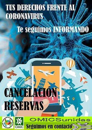 Cancelaciones y reservas