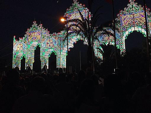 Inauguración de la Feria del pasado año.