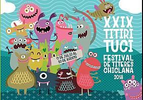 Cartel del Festival de Títeres.