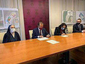firma convenio san vicente de paul