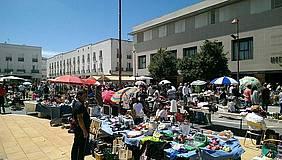 Imagen de archivo del mercadillo de los domingos