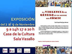 """Carte """"La violencia de género en el mundo del cómic"""""""