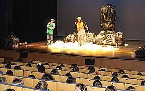 Una de las actividades de Educación Ambiental