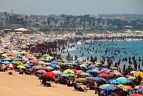 Playa de La Barrosa.