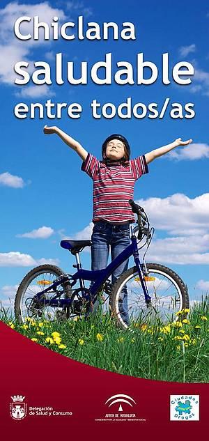 Niño en una bicicleta