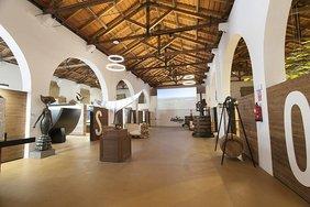centro interpretación vino y sala sala principal interior
