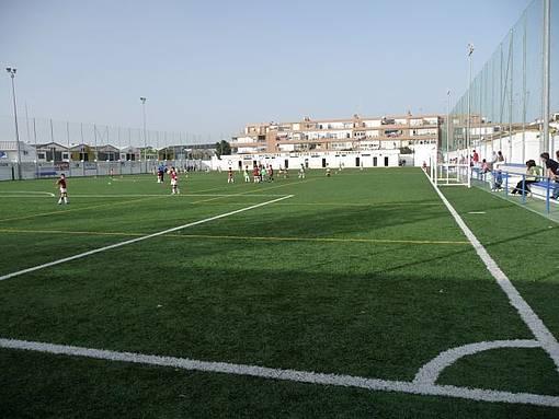 Imagen de archivo del campo de fútbol de El Trovador.