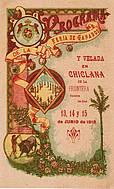 Programa de feria año 1918