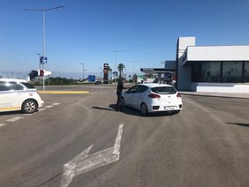 control policia local salida de chiclana