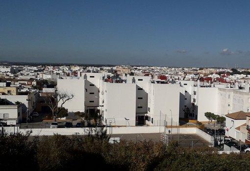 Vista general de Chiclana