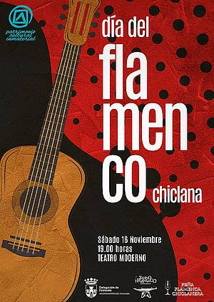 Cartel Día Internacional del Flamenco