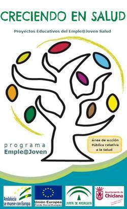 Cartel Proyectos Educativos Empleajoven Salud